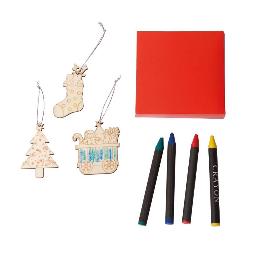 Figuras de madera con motivos navide os para pintar - Cajas con motivos navidenos ...
