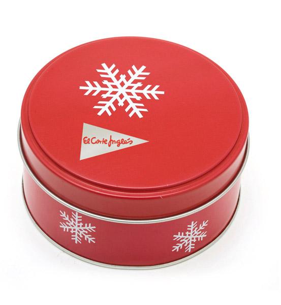 Caja de metal con motivos navide os regalo de empresa - Cajas con motivos navidenos ...