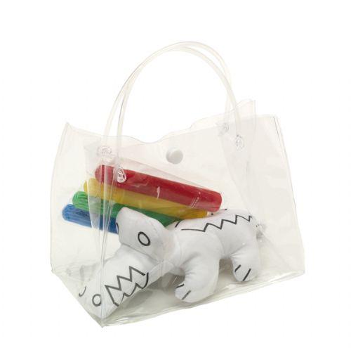 Cocodrilo de tela con 4 rotuladores para pintar regalo - Bolsas para pintar ...
